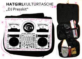 DJ Presskit- hatgirl.de Badtasche, Schminktasche, Waschtasche, Reisetasche,  Kulturtasche