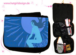 Mondfrau - hatgirl.de Badtasche, Schminktasche, Waschtasche, Reisetasche,  Kulturtasche