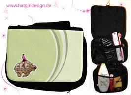 Oktopus - hatgirl.de Badtasche, Schminktasche, Waschtasche, Reisetasche,  Kulturtasche