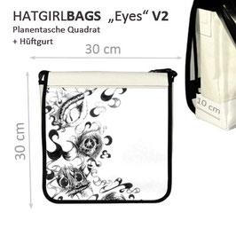"""""""Eyes-V2"""" Planentasche von hatgirlBAGS in verschiedenen Größen"""