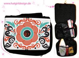 Hatgirl Oriental - hatgirl.de Badtasche, Schminktasche, Waschtasche, Reisetasche,  Kulturtasche
