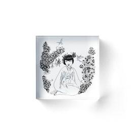 """ArtCubes """"Chinagirl"""" ©hatgirl.de (Grafik)"""