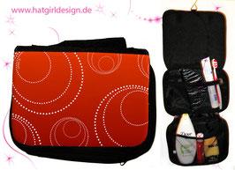 Edle Kreise- hatgirl.de Badtasche, Schminktasche, Waschtasche, Reisetasche,  Kulturtasche