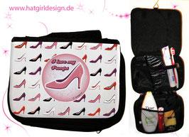 Pumps - hatgirl.de Badtasche, Schminktasche, Waschtasche, Reisetasche,  Kulturtasche