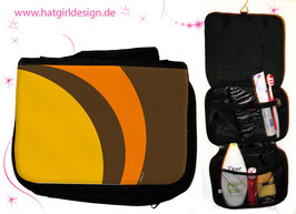 Retro - hatgirl.de Badtasche, Schminktasche, Waschtasche, Reisetasche,  Kulturtasche