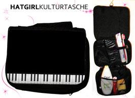 Piano Forte - hatgirl.de Badtasche, Schminktasche, Waschtasche, Reisetasche,  Kulturtasche