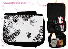 Kolibri- hatgirl.de Badtasche, Schminktasche, Waschtasche, Reisetasche,  Kulturtasche