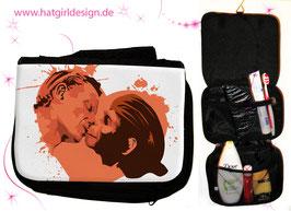 Darwin meets Adam- hatgirl.de Badtasche, Schminktasche, Waschtasche, Reisetasche,  Kulturtasche