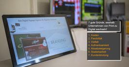 """Big Tablet in 14"""", 24"""", 27"""" und 32"""" lieferbar"""