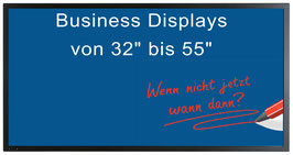 Business Displays + Medienbox + Geräte Lizenz + CMS