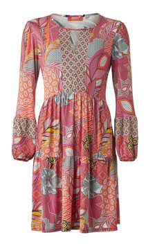Modell Kleid Andy Pink Dessin-Etoile
