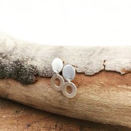 Ovale Klein Luftig und mit Plätchen
