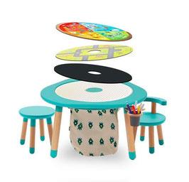 Tavolo multiattività + sedia