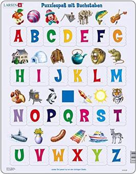 Puzzlespass mit Buchstaben