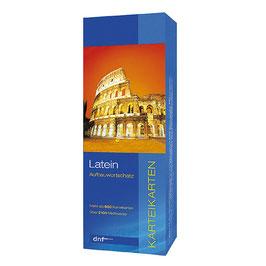 Latein Aufbauwortschatz - Karteikarten