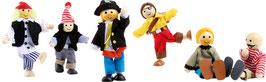 """Biegepüppchen """"Piraten"""""""