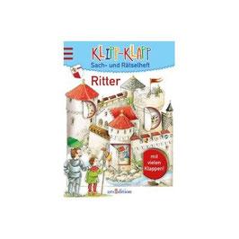 Klipp-Klapp Sach-und Rätselheft - Ritter