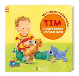 Tim braucht keinen Schnuller mehr