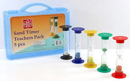 Sand Timer Teachers 5pcs