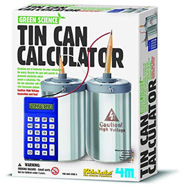 Tin Can Calculator - Green Science