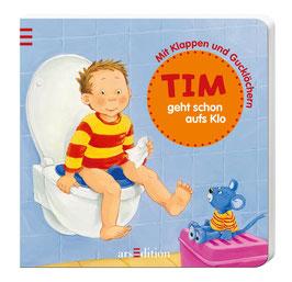 Tim geht schon aufs Klo