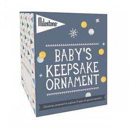 Baby's Keepsake ornament