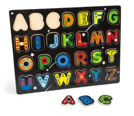 Steckpuzzle Buchstaben