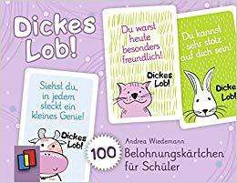 Dickes Lob! - 100 Belohnungskärtchen für Schüler