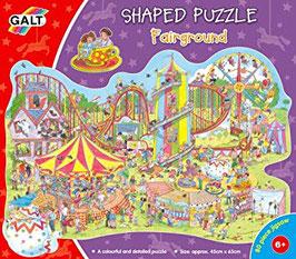 Shaped Puzzle - Fairground