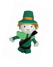 Fingerpuppe Robin Hood
