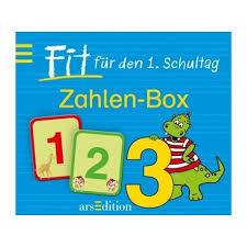 Fit für den 1. Schultag - Zahlen-Box