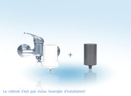 Pack filtre douche anti calcaire / chlore LS
