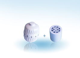 Pack filtre douche anti calcaire / chlore  SDB