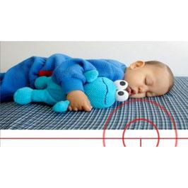 Matelas de Protection des champs électriques pour bébé