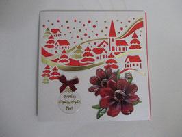 Lichtkarte, Weihnachten, Winterdorf,  Leuchtet!! 8
