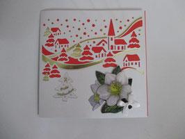 Lichtkarte, Weihnachten, Winterdorf,  Leuchtet!! 9