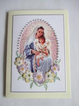 Grußkarte Neutral  Madonna