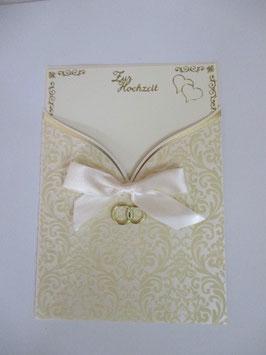 Hochzeitskarte, Hochzeit,Brautkleid