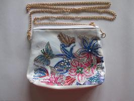 Tasche Blumen , Handarbeit