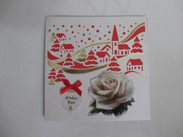 Lichtkarte, Weihnachten, Winterdorf,  Leuchtet!! 10