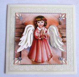 Grußkarte Engel 4