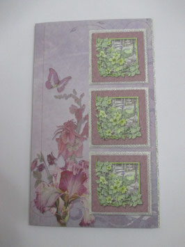 Grußkarte neutral, Pastell 2