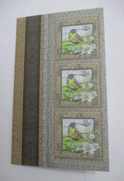 Grußkarte neutral, Pastell 9