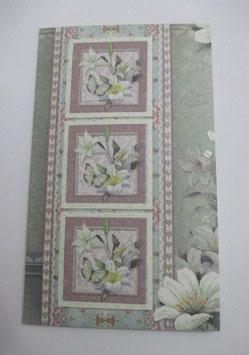 Grußkarte neutral, Pastell 4