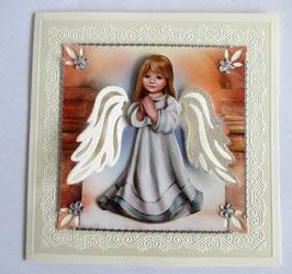 Grußkarte Engel 3