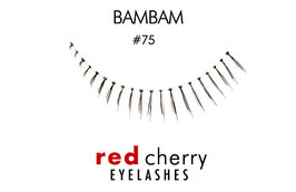 Red Cherry Eyelashes Bam Bam Style 75
