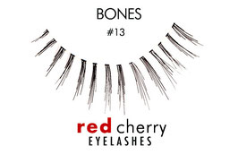 Red Cherry Eyelashes Bones Style 13