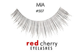 Red Cherry Eyelashes Mia Style 507