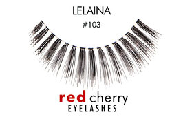 Red Cherry Eyelashes Lelaina Style 103