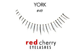 Red Cherry Eyelashes York Style 49
